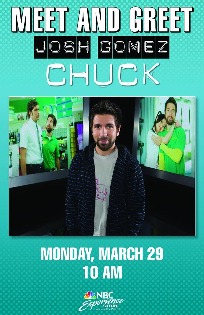 Joshua Gomez in NYC March 29th!