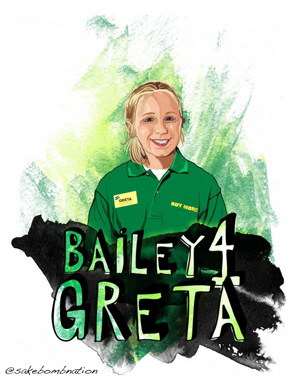 Bailey for Greta
