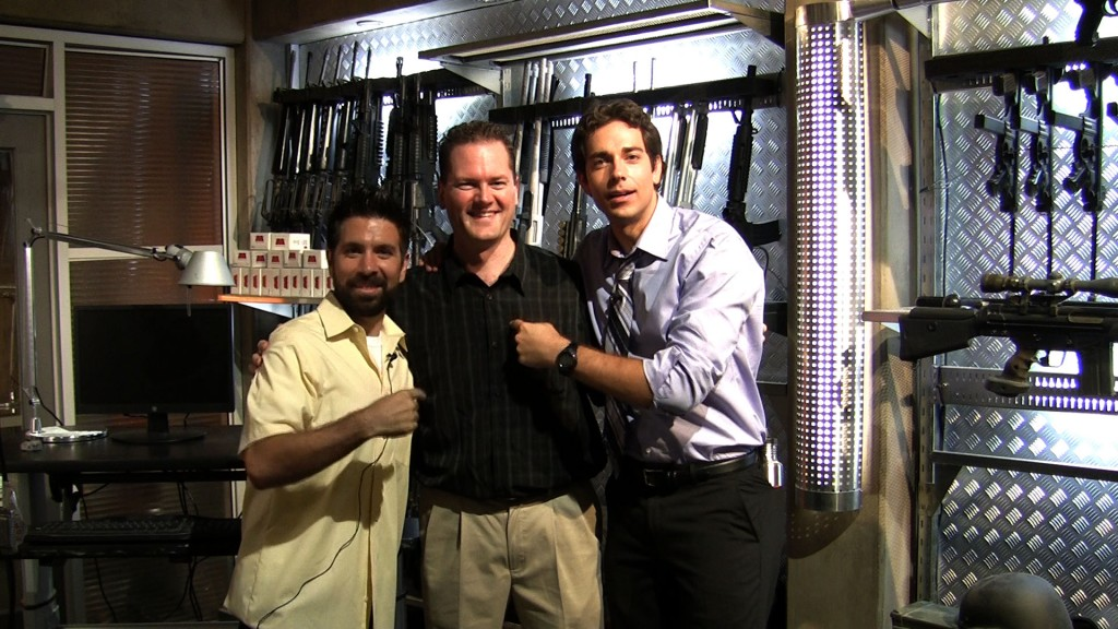 Me with Zachary Levi & Joshua Gomez